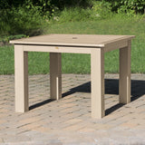 Square 42in x 42in Dining Table - Dining Height Dining Highwood USA
