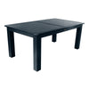 Rectangular 42in x 72in Outdoor Dining Table - Dining Height Dining Highwood USA Federal Blue