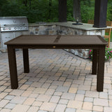 Rectangular 42in x 72in Outdoor Dining Table - Dining Height Dining Highwood USA