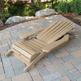 King Hamilton Folding & Reclining Adirondack Chair