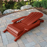 King Hamilton Folding & Reclining Adirondack Chair Highwood USA