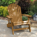 King Hamilton Folding & Reclining Adirondack Chair and Ottoman