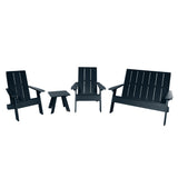 Barcelona Modern Adirondack 4-Piece Set Highwood USA Federal Blue