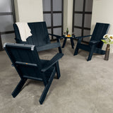 Barcelona Modern Adirondack 4-Piece Set Highwood USA