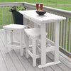 Lehigh 3pc Counter Height Balcony Set Highwood USA