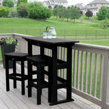 Lehigh 3pc Bar Height Balcony Set Highwood USA