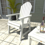 2 Hamilton Deck Chairs with Adirondack Side Table Highwood USA