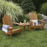 2 Classic Westport Adirondack Chairs with 1 Westport Side Table Highwood USA