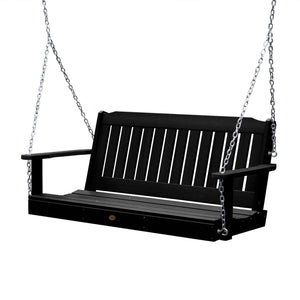 Lehigh Porch Swing - 5ft BenchSwing Highwood USA Black