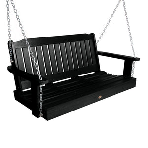 Lehigh Porch Swing - 4ft BenchSwing Highwood USA Black