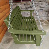 Refurbished Weatherly Porch Swing 5ft Highwood USA
