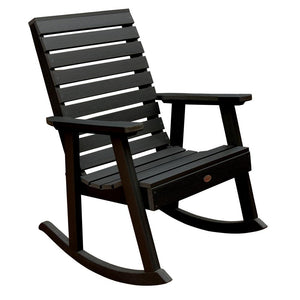 Weatherly Rocking Chair Rockers Highwood USA Black