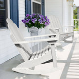 Classic Westport Adirondack Rocking Chair Highwood USA