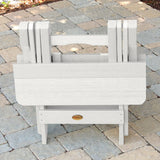 2 Classic Westport Adirondack Chairs with 1 Adirondack Folding Side Table