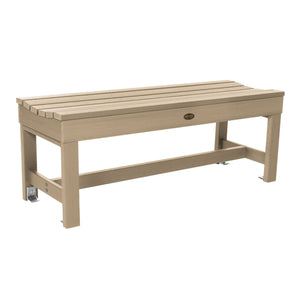 "Commercial Grade ""Weldon"" 4ft Backless Bench Sequoia Professional Tuscan Taupe"