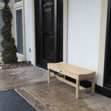 "Commercial Grade ""Weldon"" 4ft Backless Bench Sequoia Professional"