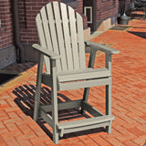 Commercial Grade Muskoka Adirondack Deck Dining Chair in Counter Height