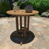 Commercial Grade 36-inch Round Counter Height Bistro Dining Table Sequoia Professional