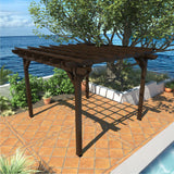 The Sequoia Professional Commercial Grade Ridgecrest 12 x 12 Pergola Sequoia Professional