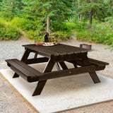 "Commercial Grade ""National"" Picnic Table Sequoia Professional"