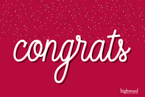 Congratulations! Gift Cards Highwood USA