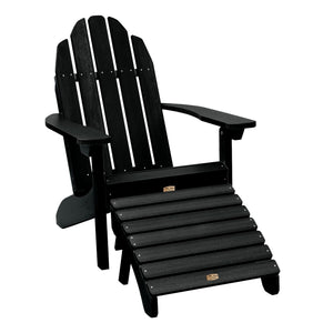 Essential Adirondack Chair with Essential Folding Ottoman ELK OUTDOORS® Abyss