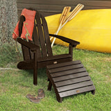 Essential Adirondack Chair with Essential Folding Ottoman
