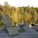 Essential Adirondack Chair with Ottoman & Folding Side Table ELK OUTDOORS®