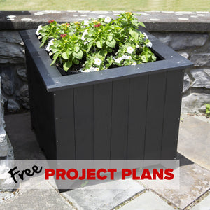 Everwood Large Planter Box - DIY Project Plan Project Plans Highwood USA