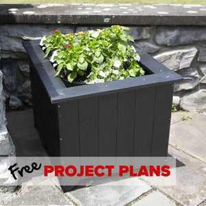 Everwood Medium Planter Box - DIY Project Plan Project Plans Highwood USA