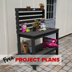 Everwood Potting Bench - DIY Project Plan Project Plans Highwood USA