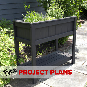 Everwood Raised Garden Planter - DIY Project Plan Project Plans Highwood USA