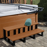 Hot Tub Spa Two Tier Steps 48 Inch Highwood USA