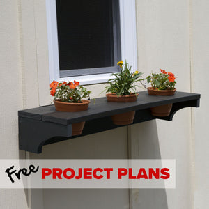 Everwood Simple Window Box - DIY Project Plan Project Plans Highwood USA
