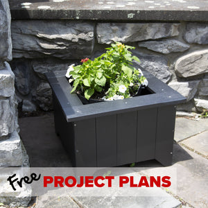 Everwood Small Planter Box - DIY Project Plan Project Plans Highwood USA