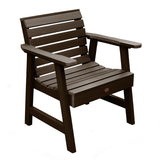 2 Weatherly Garden Chairs with 1 Square Side Table Highwood USA