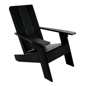 Barcelona Modern Adirondack Chair Highwood USA Black