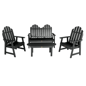 Classic Westport Garden Conversation Set Highwood USA Black