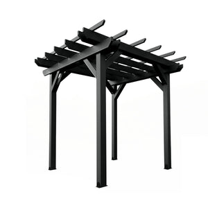 Bodhi 8' x 8' Pergola Highwood USA Black
