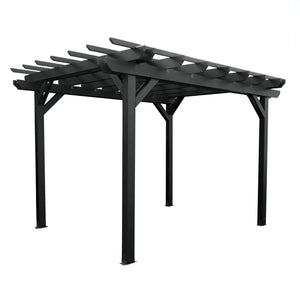Bodhi 10' x 10' Pergola Highwood USA Black