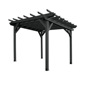 Bodhi 12' x 12' Pergola Highwood USA Black