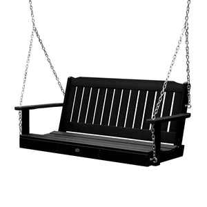 Refurbished Lehigh Porch Swing Highwood USA Black 4