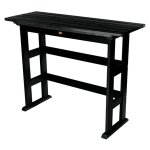 Lehigh Bar Height Balcony Table Highwood USA Black