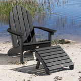 Essential Adirondack Chair with Essential Folding Ottoman ELK OUTDOORS®