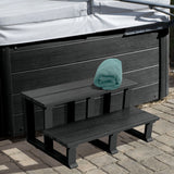 Hot Tub Spa Two Tier Steps 32 Inch