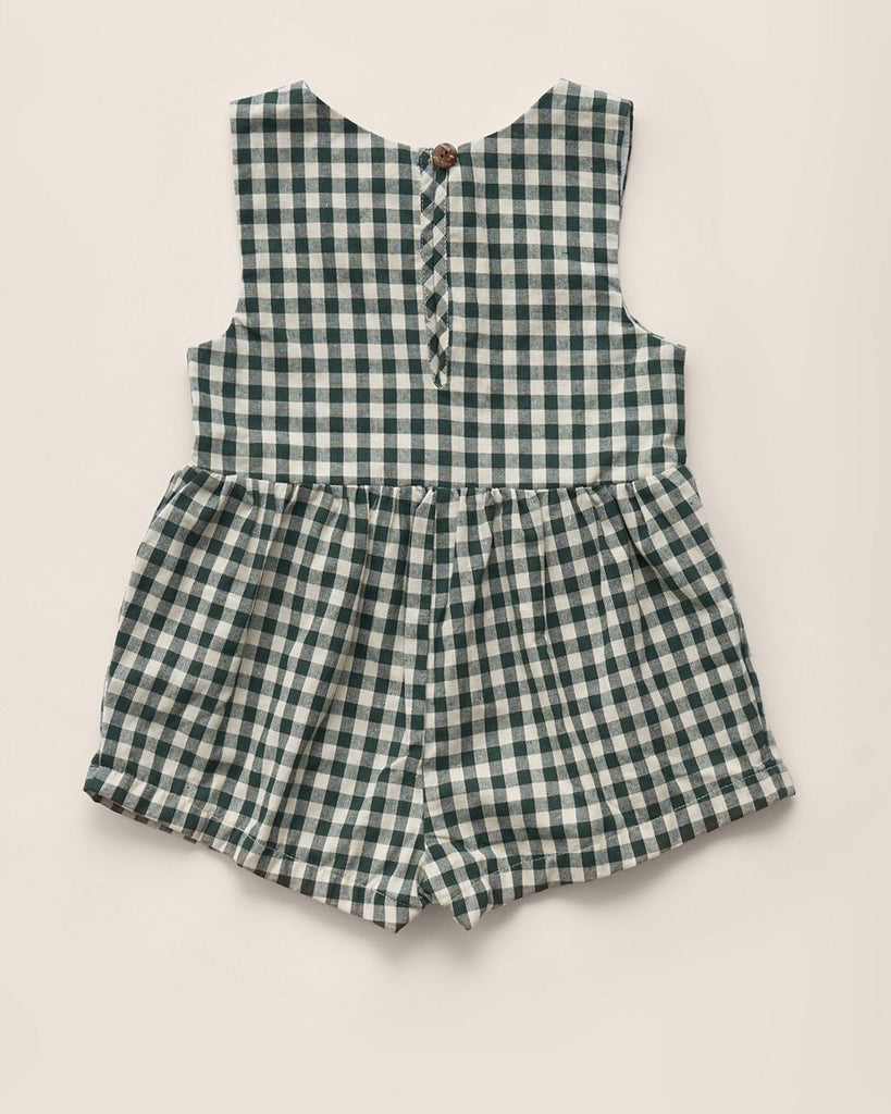 Juneau Sunsuit | Hunter Check