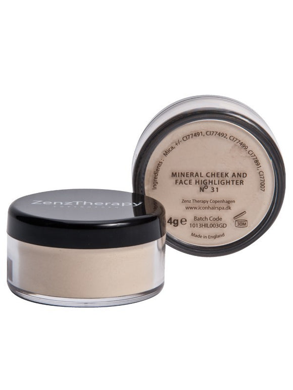 ZenzTherapy Mineral Cheek & Face Highlighter 4 g no 31