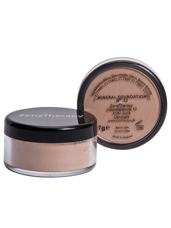 ZenzTherapy Mineral Foundation 7 g no 22