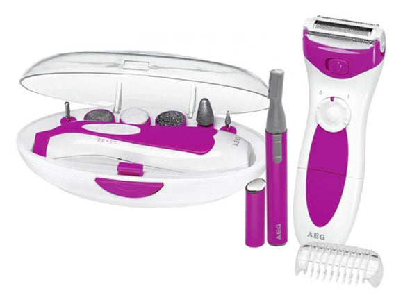 AEG Lady Beauty Set LBS 5676 weiß-pink