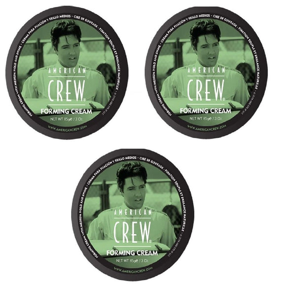 3 x AMERICAN CREW Forming Cream 255g